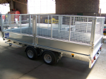 Ifor Williams LM126 Mesh Side Trailer